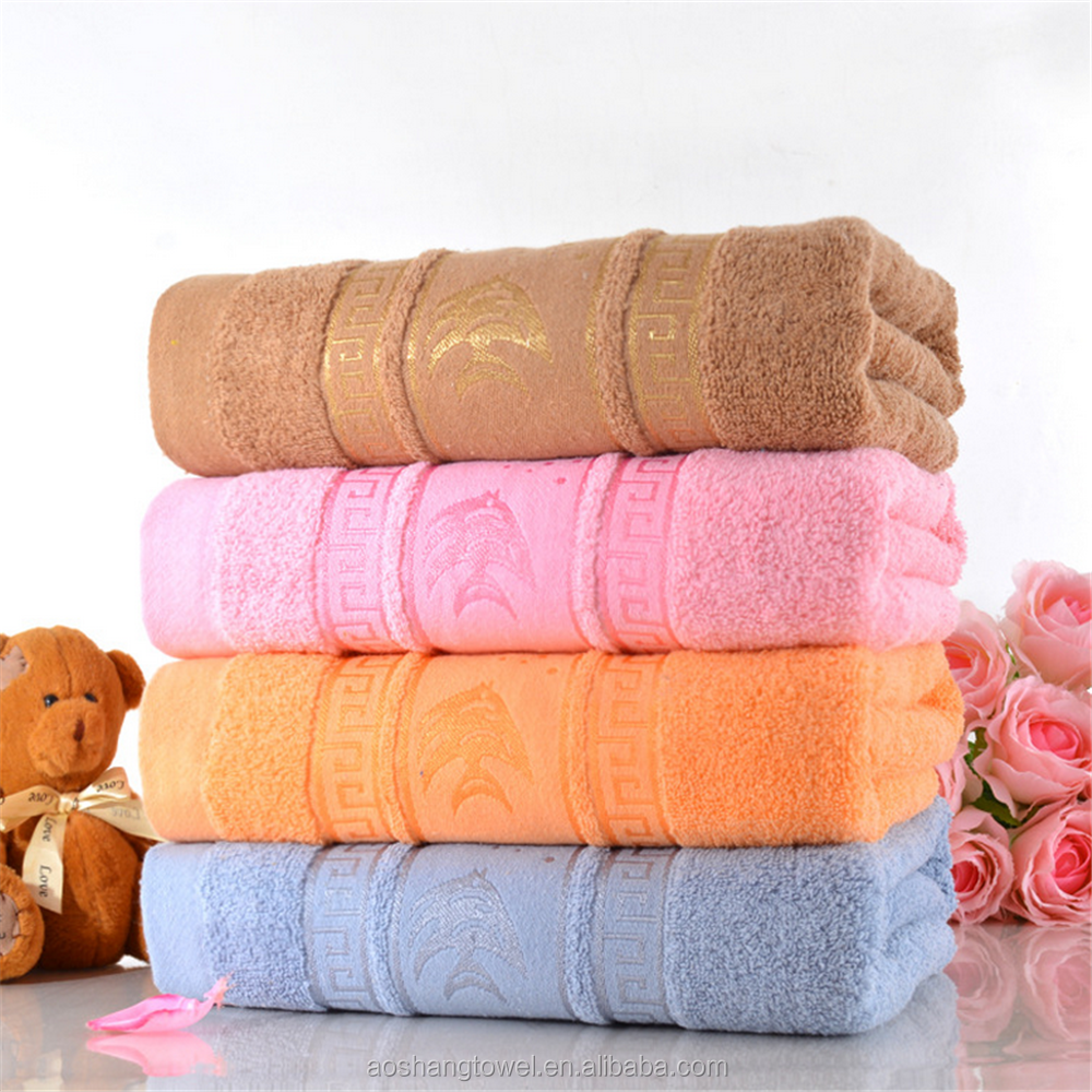 factory wholesale bulk cheap fish bath towels made in China