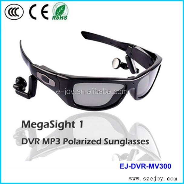 Hd <span class=keywords><strong>1280x720p</strong></span>@30fps 5.0 Mega piksel CMOS polarize bluetooth mp3 sunglass video kamera