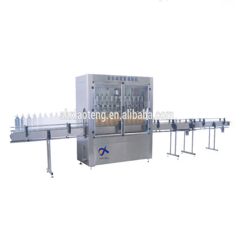 Automatic edible oil bottle filling capping machine mineral water&juice&wine CE SGS