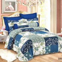 3 Pcs patchwork quilt duvets and duvet covers - 100% polyest