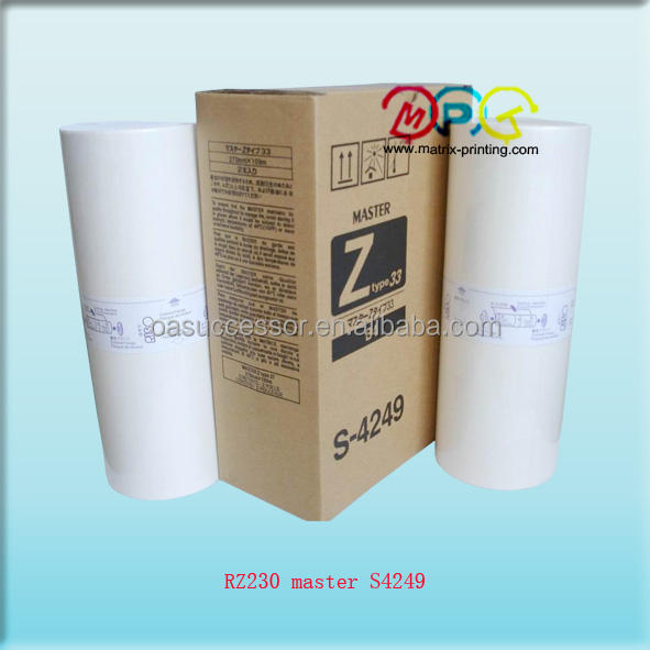 Z type master S4249, suit for RV 2450, 2460C, 2490C, 3460,3490, 3650,3660, 3690,5690, 9690 RZ 200,220,230,300,310,330,370,390,530,570, 9