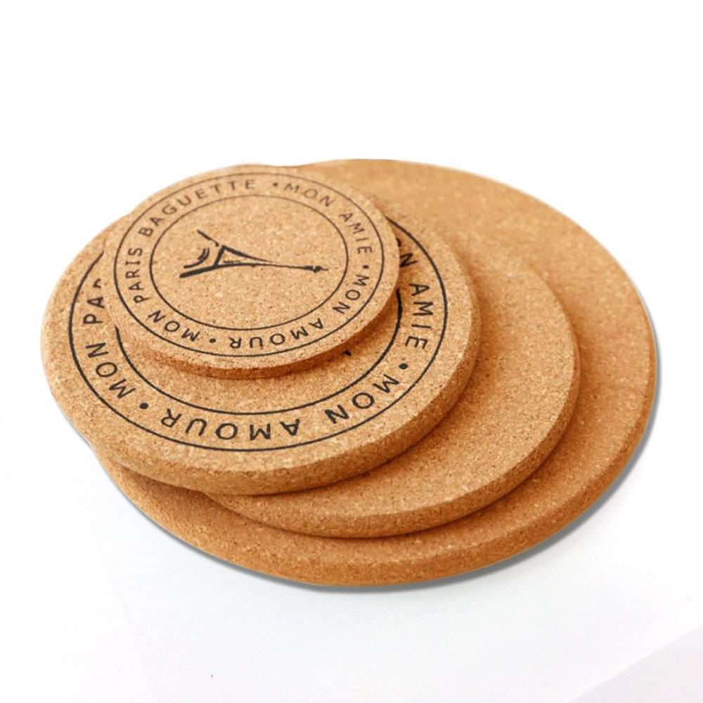 Cork Coasters for Christmas,Cork Table Mats for Festival/Event/Party