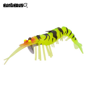 Soft Bait Artificial Plastic Bait Plastic Shrimp Lure Shrimp Soft Lure