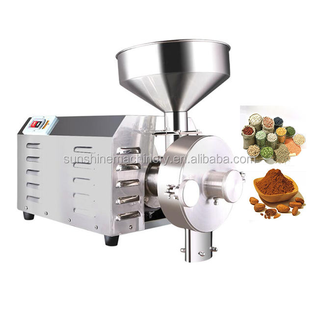 Corn maize wheat beans small corn mill grinder for sale