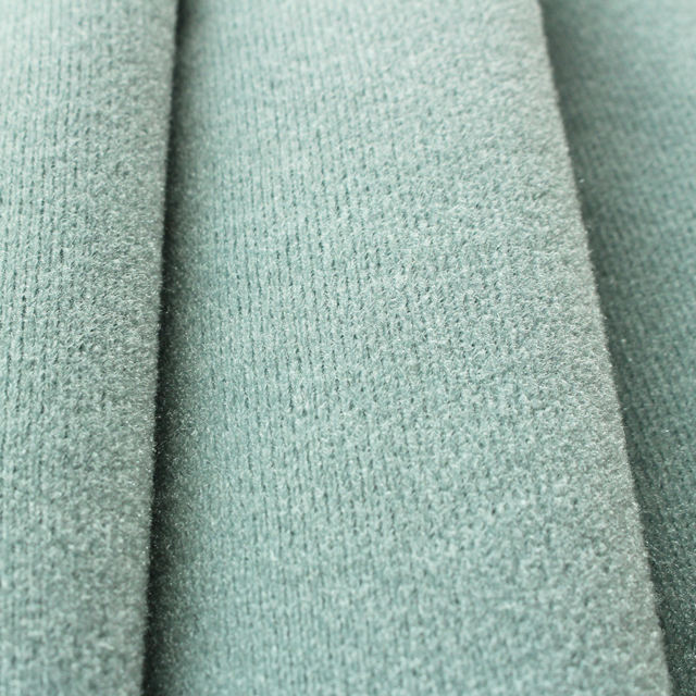 Warp Knitted 100% Polyester One Side Brushed Tricot Loop Velvet Nylex Fabric