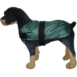 customized fashion recycled pet waterproof winter jacket warm dog blanket coat plain
