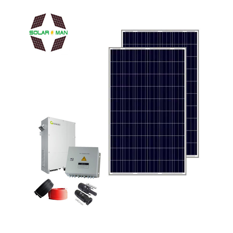 High efficiency poly solar panel system 5kw/10kw solar panels wholesale China with 280w 60cell