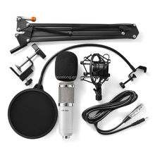 Big color BM800 Condenser Wired Microphone for Computer Network sing/Recording/Chat/Video Conference/Games