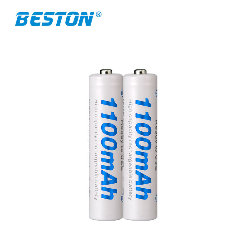 High quality 1000 cycles 1.2V AAA 1100mAh Nimh rechargeable battery for electric toothbrush/toys/remote control/mouse
