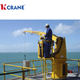 Crane Sea Ship Folding Jib Deck Crane For Lifting Cargo From Sea 5T 10T 15T 20T Ship Crane