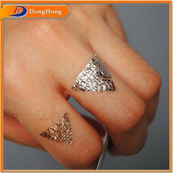 stampa a colori unico anello tatuaggio temporaneo