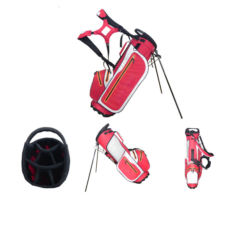 Personalized unique ladies calina pink golf bags