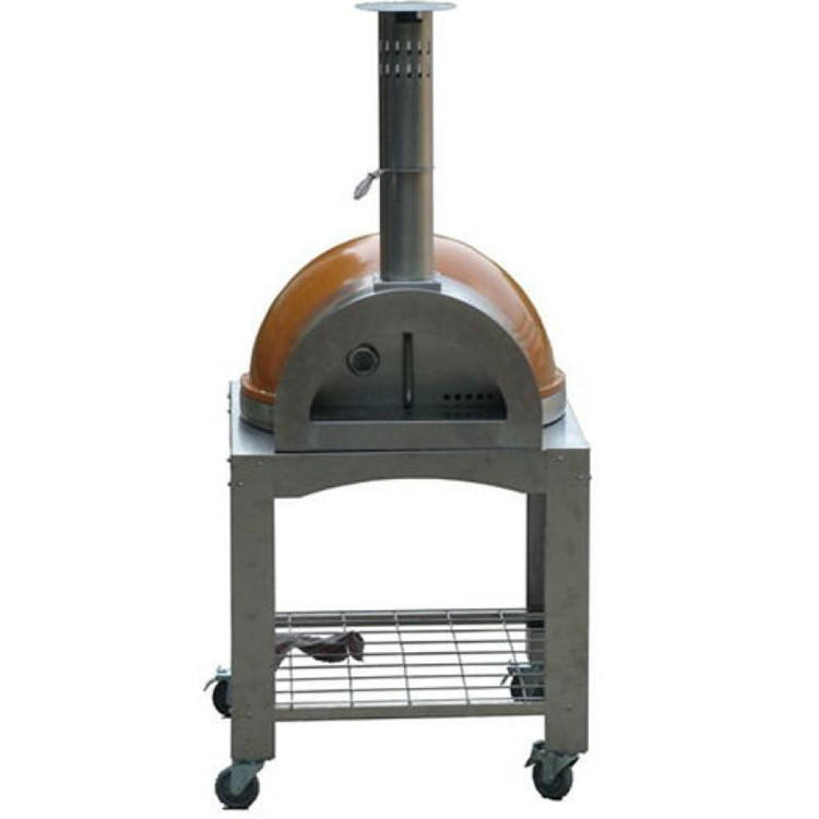New Design Outdoor Use Burning Pizza Oven Dome Wood Fired Pizza Oven for Sale