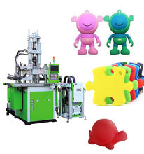 auto hydraulic plastic silicone toy vertical injection molding machine