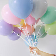 new color 10 inch latex pastel balloons for party decoration