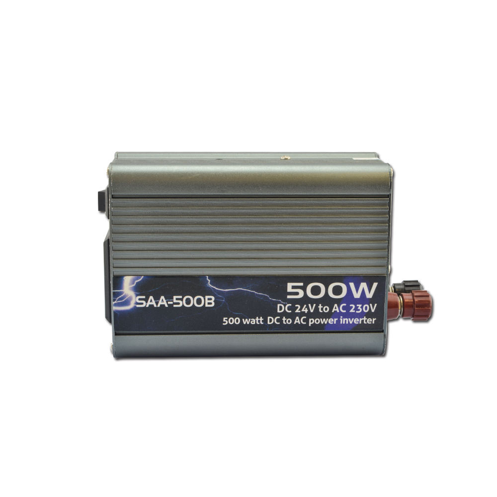 Suoer <span class=keywords><strong>DC</strong></span> 24 V untuk <span class=keywords><strong>AC</strong></span> 230 V Mini 500 Watt Power <span class=keywords><strong>Inverter</strong></span> Modified Sine Wave Power <span class=keywords><strong>Inverter</strong></span>