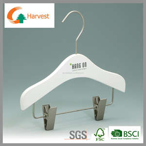 Factory price trousers and pants wooden hanger