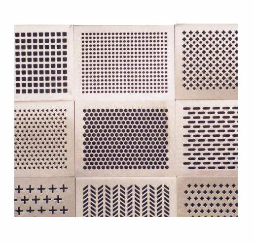 Custom precision SUS201 304 316 perforated parts stainless steel sheet