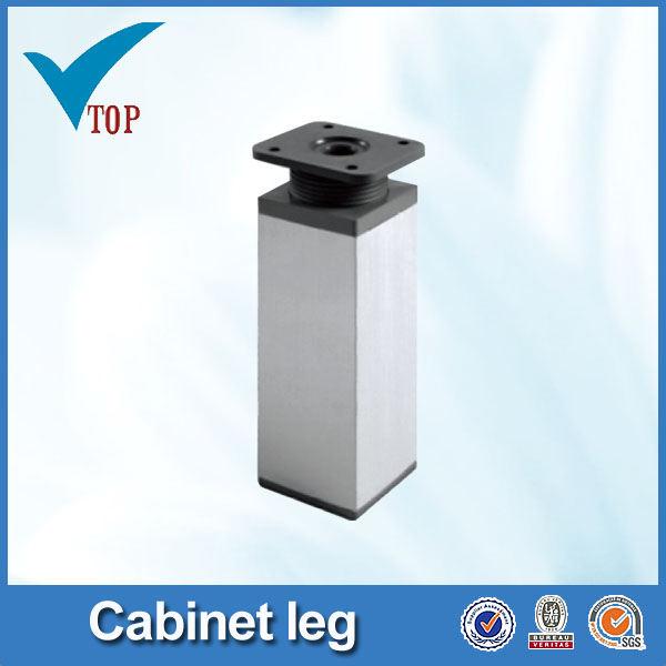 Aluminio pies ajustables para mobiliario