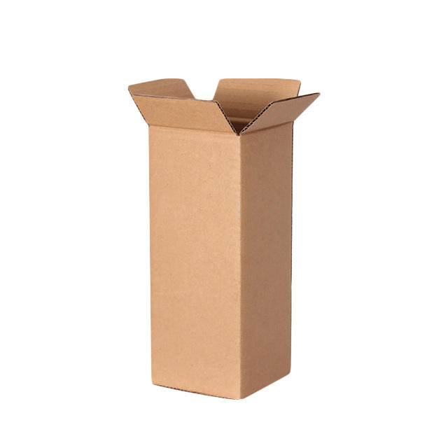 Rigid foldable recycled paper packaging corrugated carton box for bottle/ champagne /water cups