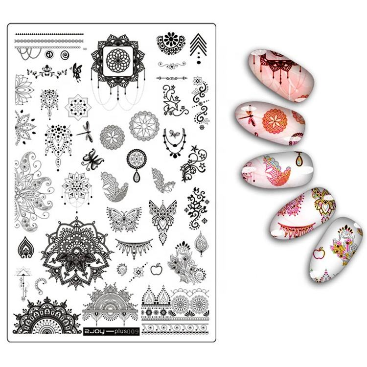 Nail Art Design Plate 2018 High Quality Hot Selling Stamping Nail Art Image Plate