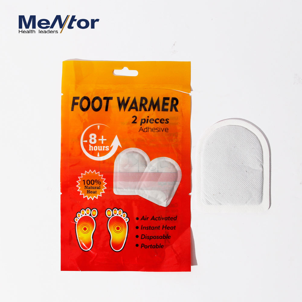 Disposable leg and toe heating pad shoes warmer heat pad