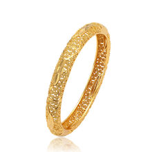 52392 Wholesale fashion jewelry 24k gold plated fashion bangle, models brass bangle bracelet