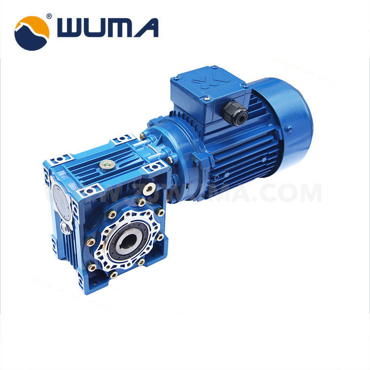 Low noise three phase ac motor electric motor gear reducer