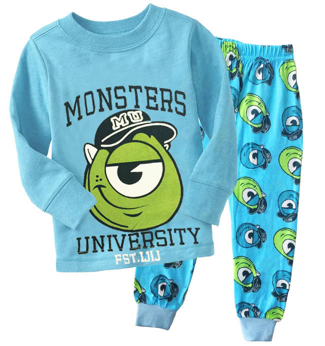 Boys Long Sleeve 100% Poluester T Shirt Pajamas Get Free Sample Shipping Express