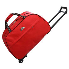 promotional cheap 600D polyester womens trolley travel bag duffel