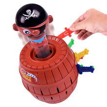 Popular funny novelty 16 swords tricky game toys pop up pirate