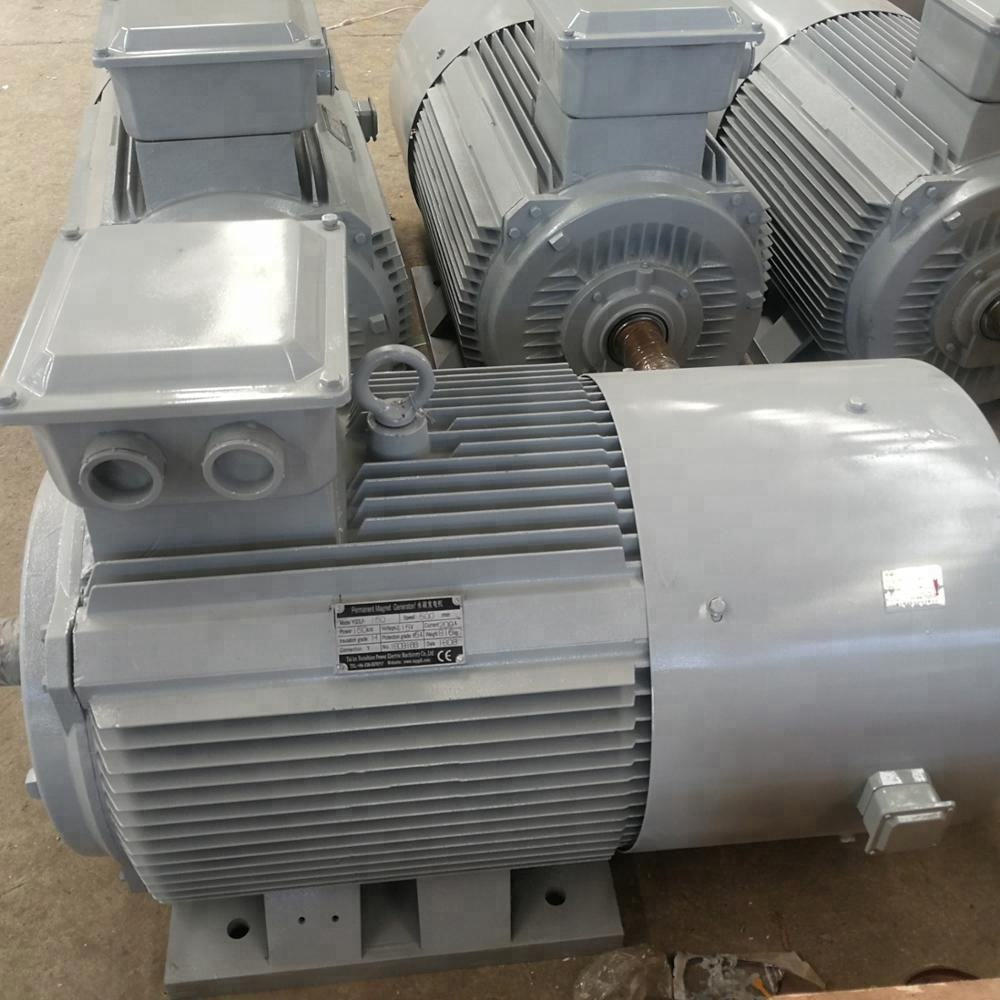 500rpm 150kW low speed Magnetic Generator