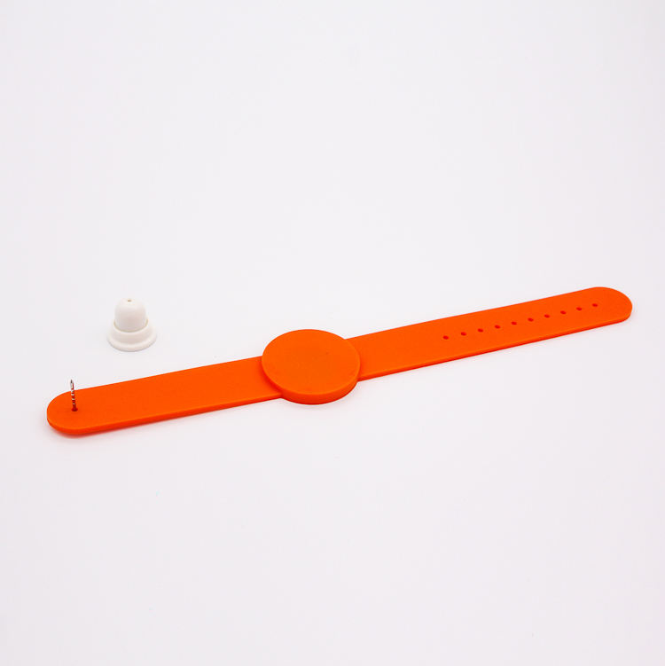 50pcs RFID 125KHz EM4100/4102 RFID Blue Waterproof Silicone Wristband Watch Tag