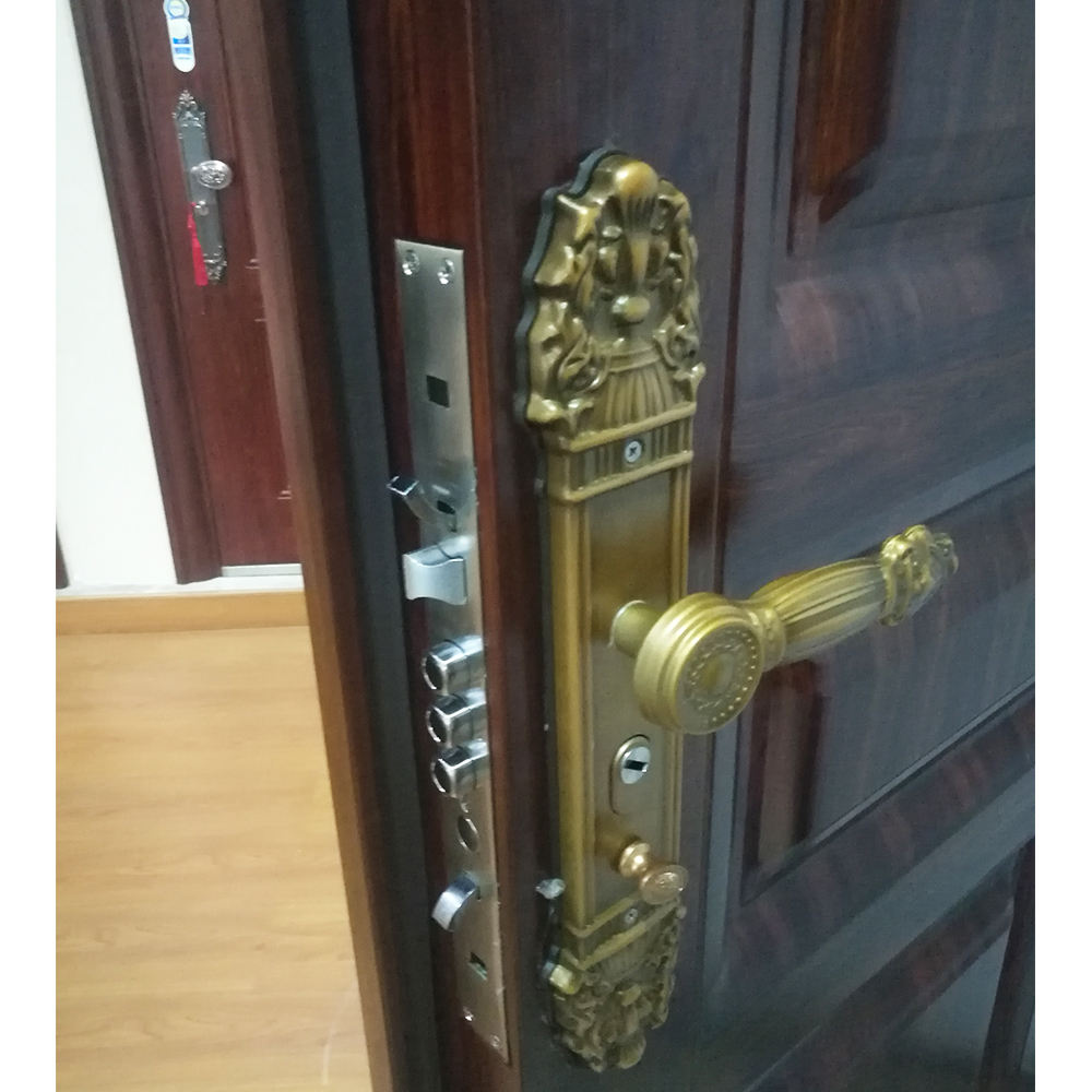 China factory Hotian Custom steel electronic security vault door kerala front door designs