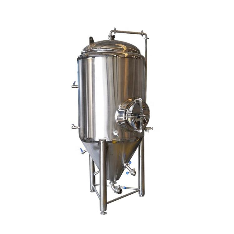 commercial beer fermenter stainless steel tank with conical bottom wine beer fermentation tank 500m3 fermentation tank