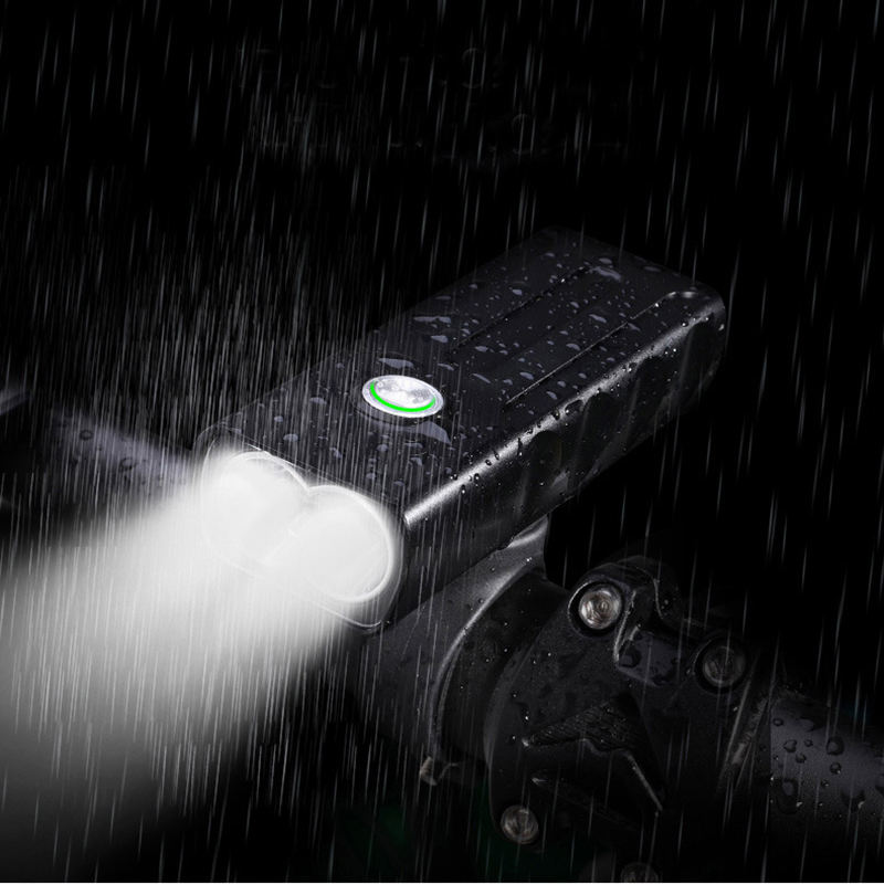 3 in 1 function bike light/ hand held flashlight/ portable battery for phone waterproof to flash for a road bike in rainly day