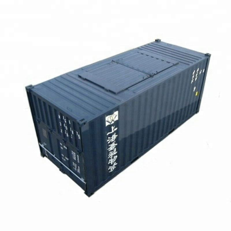 China 40ft top open dry cargo bulk shipping container