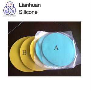 HTV Silicone rubbers for dis spin casting A part