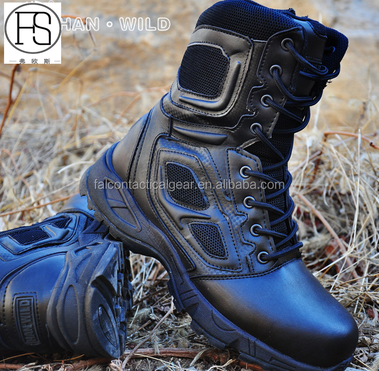 Breathable Desert Military Hiking Shoes Tactical Combat Boots for Hunting Hiking Camping