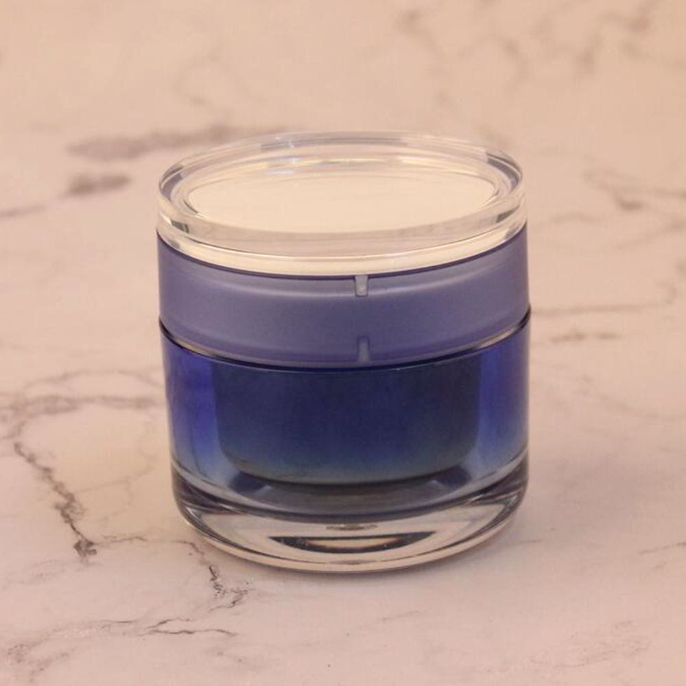 Free sample 20g acrylic double wall cosmetic empty jar