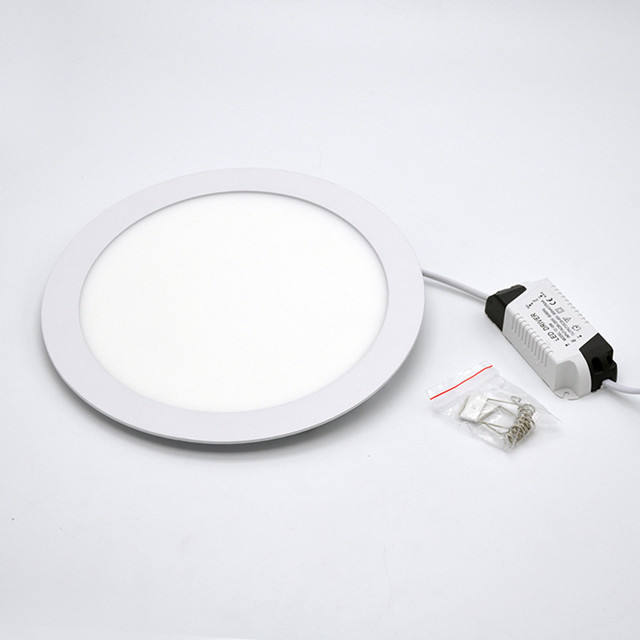 Round Square Wall Mounted 3W 6W 9W 12W 12V Dc Ultra Thin Led Light Panel