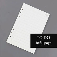 A5/A6/A7 To Do List Note Pad for Daily Travel Notebook