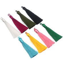 Five Tier Tassel Cotton Long Colorful Layered Tassel For Earring Pendant Clothes