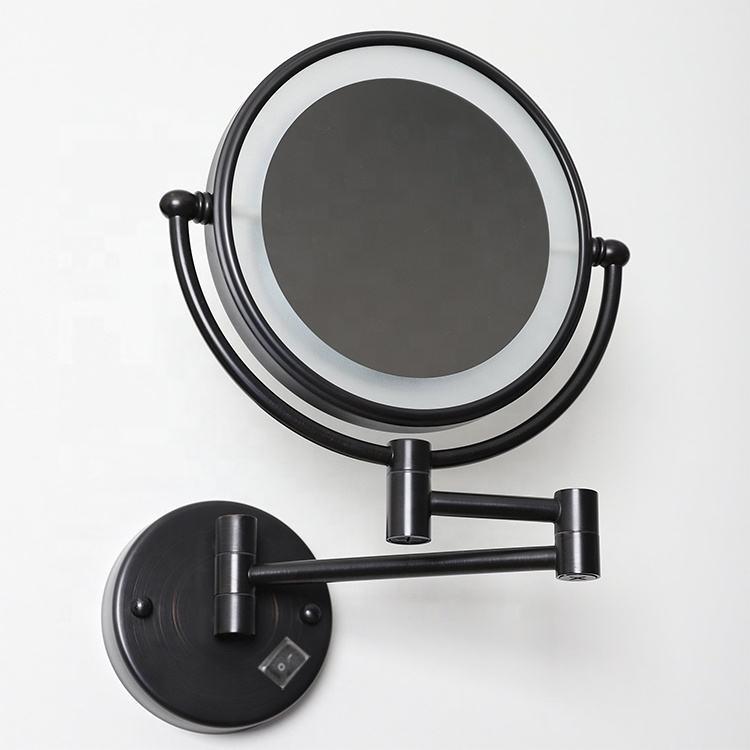 Matte black bathroom mirror suspenz kayak rack