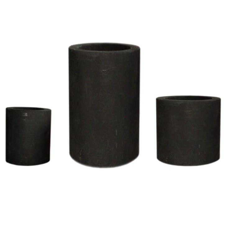 Chinese factory cast iron crucible for melting aluminum crucibles gold graphite pot