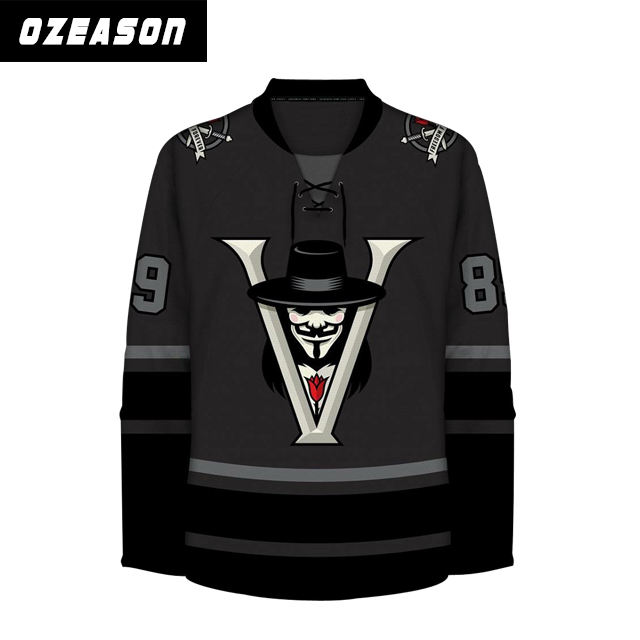 Best Embriodery Sublimation Custom Team Reversible Ice Hockey Jersey/goalie Shirts