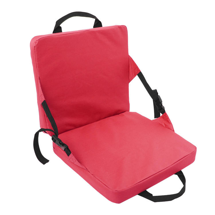 Portable Foldable Outdoor Stadium Seat Cushion with 4cm Thick Padding for Bench and Chair