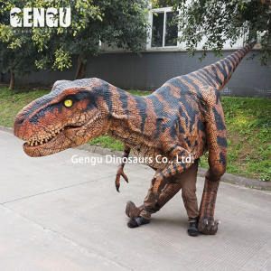 Park Attraction Dinosaur Mascot T Rex Dinosaur Costume