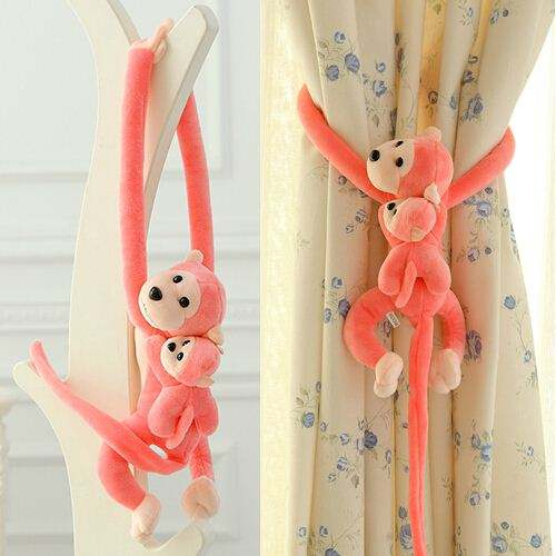 2020 New 70cm the Child and Mother Monkey with Long Arms Soft Plush Toys Cartoon Dolls Baby/Children Animal Kids Gift