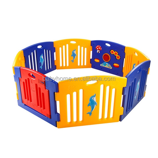 Mamakids H0805B Baby Playpen Kids Activity Centre Safety Play Yard Home Indoor Outdoor With 8 panels
